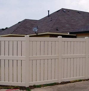 In House Financing Dallas Tx >> Vinyl Semi-Privacy Fence Dallas, Texas