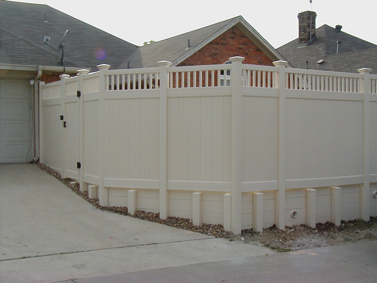 Retaining Walls And Fence In Dallas