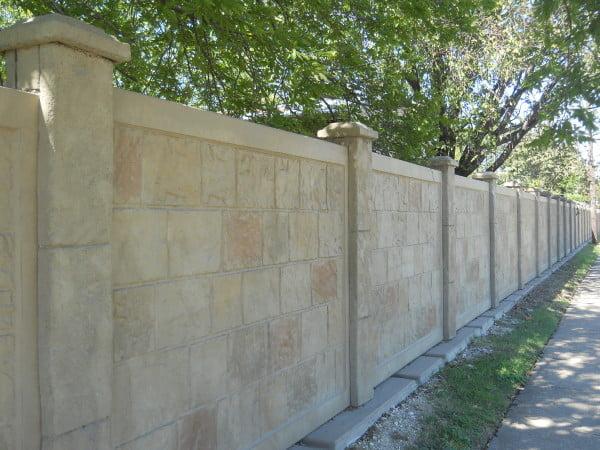 What is Precast Concrete Fence?