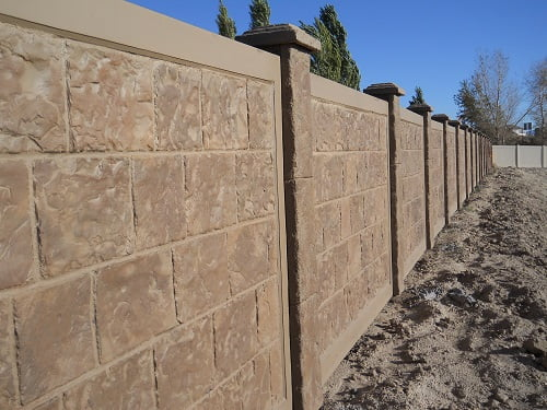 Precast Concrete Fence In Dallas