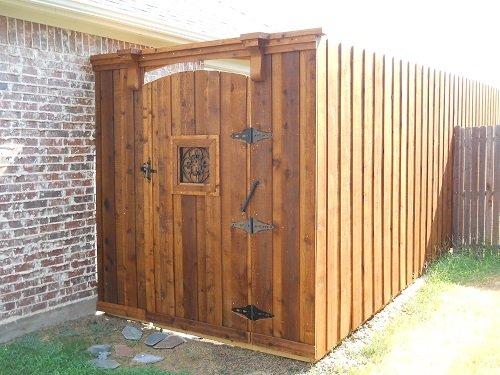 Wood Fences In Dallas Texas
